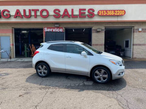 2013 Buick Encore for sale at KING AUTO SALES  II in Detroit MI
