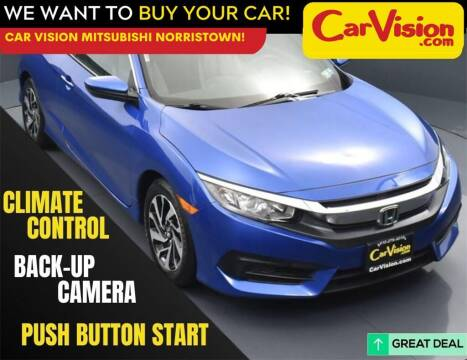 2018 Honda Civic for sale at Car Vision Mitsubishi Norristown in Norristown PA