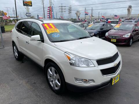2011 Chevrolet Traverse for sale at Texas 1 Auto Finance in Kemah TX