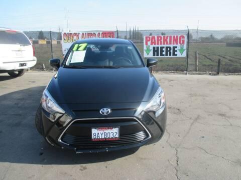 2017 Toyota Yaris iA for sale at Quick Auto Sales in Modesto CA