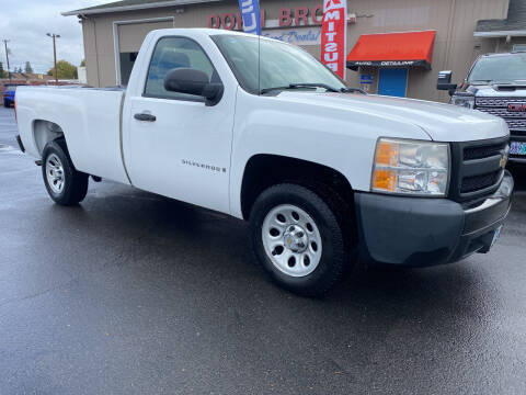 2007 Chevrolet Silverado 1500 for sale at Dorn Brothers Truck and Auto Sales in Salem OR