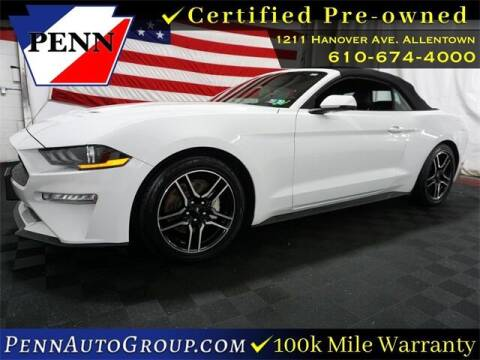2019 Ford Mustang for sale at STAR AUTO MALL 512 in Bethlehem PA