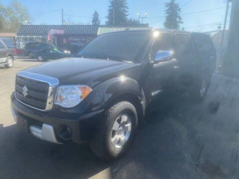 2009 Suzuki Equator for sale at MILLENNIUM MOTORS INC in Monroe WA