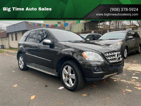 2009 Mercedes-Benz M-Class for sale at Big Time Auto Sales in Vauxhall NJ