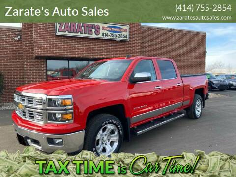 2015 Chevrolet Silverado 1500 for sale at Zarate's Auto Sales in Caledonia WI