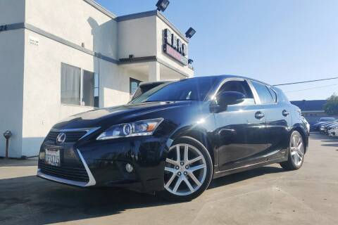 2014 Lexus CT 200h for sale at Fastrack Auto Inc in Rosemead CA