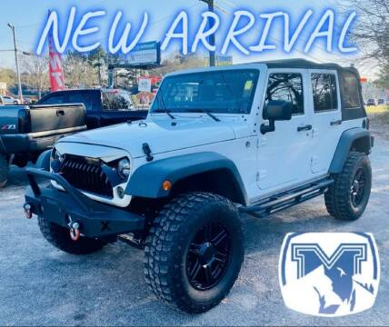 2014 Jeep Wrangler Unlimited for sale at Monterrey Auto Brokers in Decatur GA