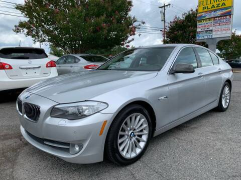 2011 BMW 5 Series for sale at 5 Star Auto in Matthews NC