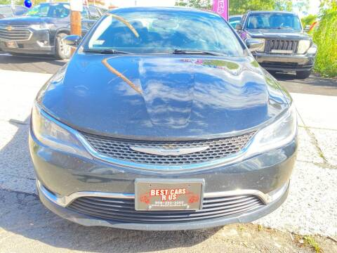 2015 Chrysler 200 for sale at Best Cars R Us in Plainfield NJ