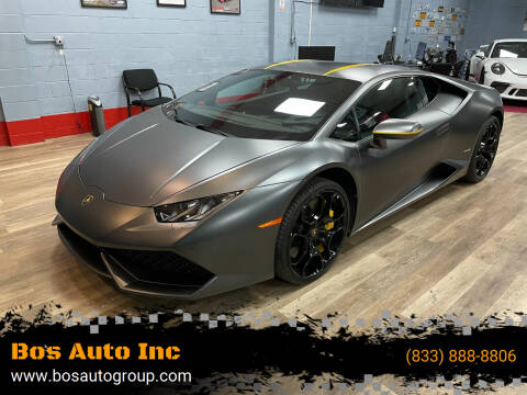 2015 Lamborghini Huracan for sale at Bos Auto Inc in Quincy MA