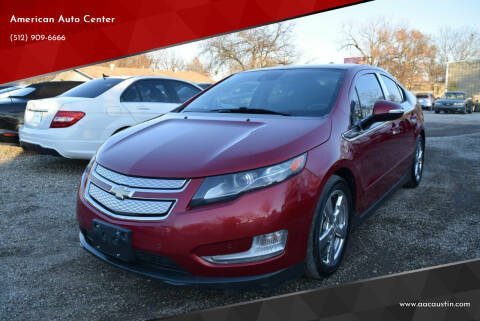 2013 Chevrolet Volt for sale at American Auto Center in Austin TX