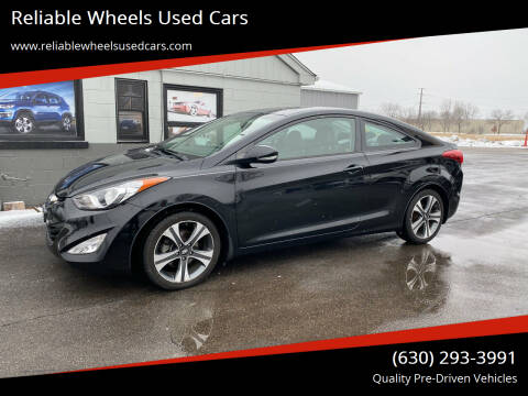 2013 Hyundai Elantra Coupe for sale at Reliable Wheels Used Cars in West Chicago IL