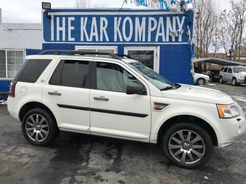 2008 Land Rover LR2 for sale at The Kar Kompany Inc. in Denver CO