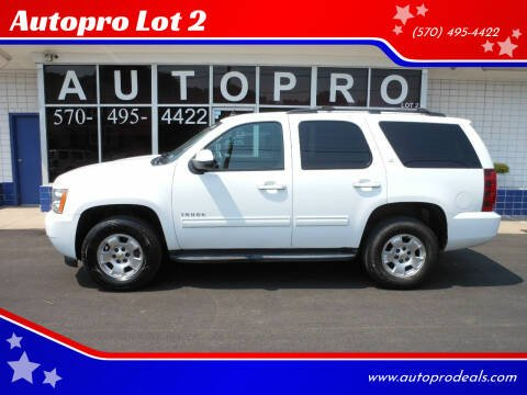 2012 Chevrolet Tahoe for sale at Autopro Lot 2 in Sunbury PA