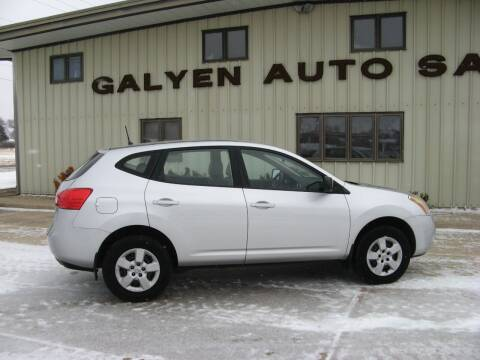 2008 Nissan Rogue for sale at Galyen Auto Sales Inc. in Atkinson NE