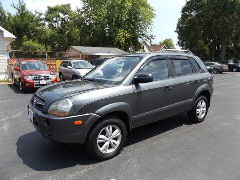 2009 Hyundai Tucson for sale at Goodman Auto Sales in Lima OH