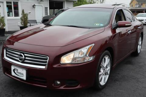 2013 Nissan Maxima for sale at Randal Auto Sales in Eastampton NJ