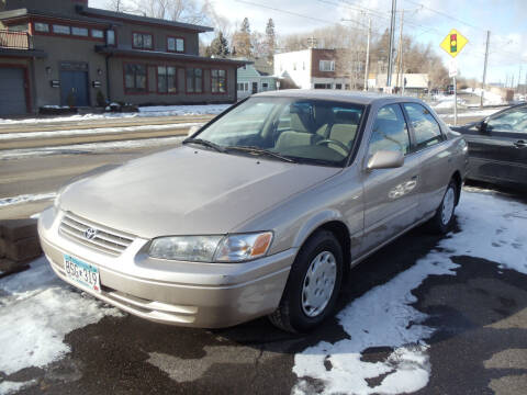 1998 Toyota Camry for sale at Metro Motor Sales in Minneapolis MN