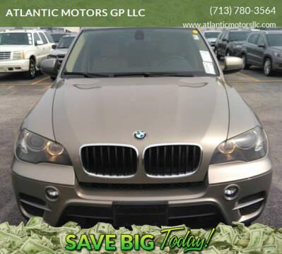2011 BMW X5 for sale at ATLANTIC MOTORS GP LLC in Houston TX