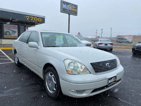 2002 Lexus LS 430 for sale at MotoMaxx in Spring Lake Park MN