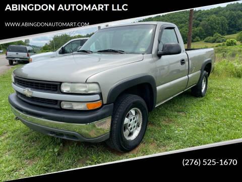 2001 Chevrolet Silverado 1500 for sale at ABINGDON AUTOMART LLC in Abingdon VA