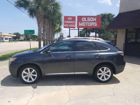 2010 Lexus RX 350 for sale at Olson Motors LLC in Saint Augustine FL