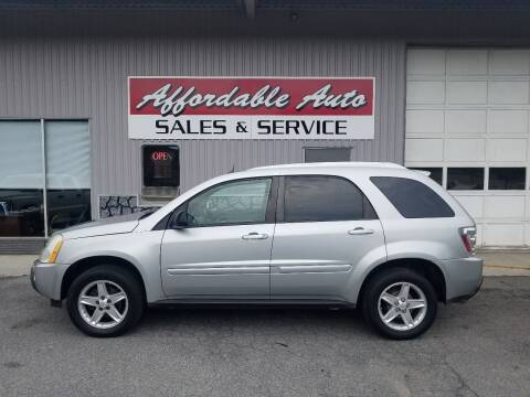 2005 Chevrolet Equinox for sale at Affordable Auto Sales & Service in Berkeley Springs WV