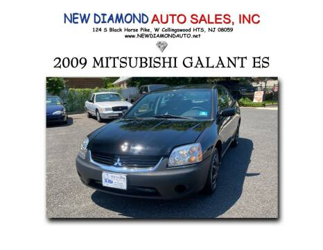 2009 Mitsubishi Galant for sale at New Diamond Auto Sales, INC in West Collingswood Heights NJ