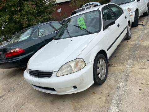 1999 Honda Civic for sale at Copeland's Auto Sales in Union City GA
