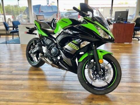 2018 Kawasaki Ninja 650R for sale at Richardson Sales & Service in Highland IN