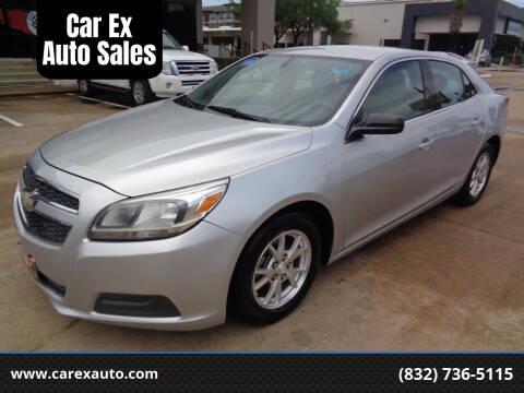 2013 Chevrolet Malibu for sale at Car Ex Auto Sales in Houston TX