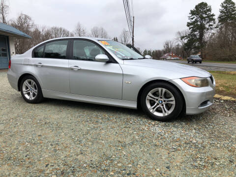 2008 BMW 3 Series for sale at Pay-Less Auto Center in Roxboro NC
