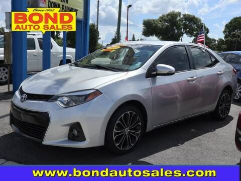 2014 Toyota Corolla for sale at Bond Auto Sales in Saint Petersburg FL