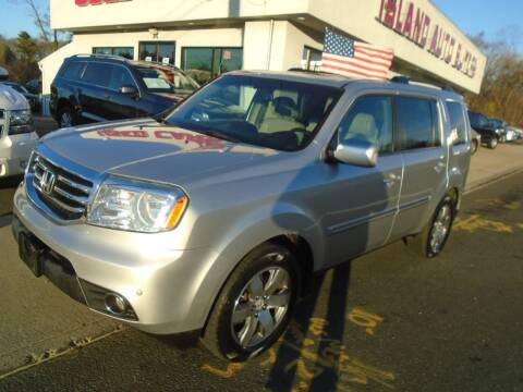 2013 Honda Pilot for sale at Island Auto Buyers in West Babylon NY