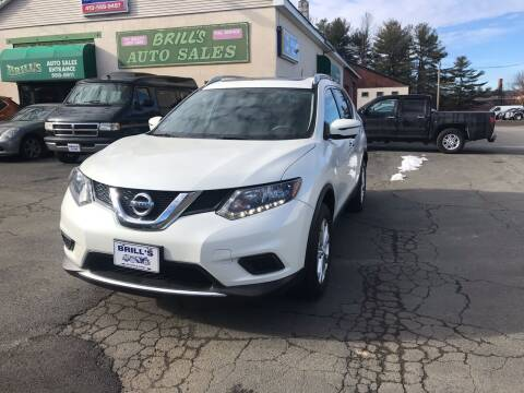 2016 Nissan Rogue for sale at Brill's Auto Sales in Westfield MA