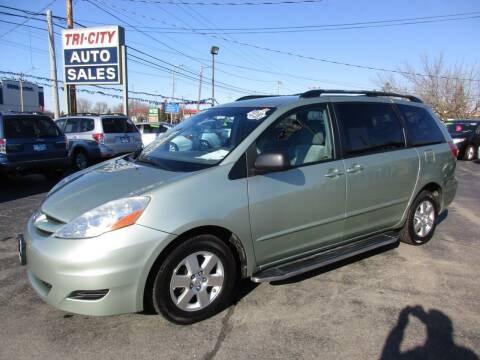 2008 Toyota Sienna for sale at TRI CITY AUTO SALES LLC in Menasha WI