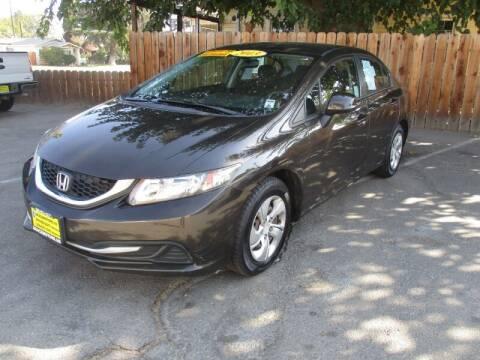 2013 Honda Civic for sale at Grace Motors in Manteca CA