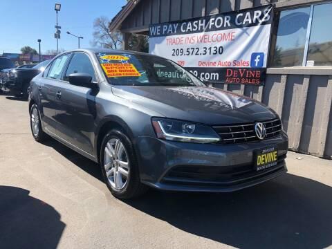 2018 Volkswagen Jetta for sale at Devine Auto Sales in Modesto CA
