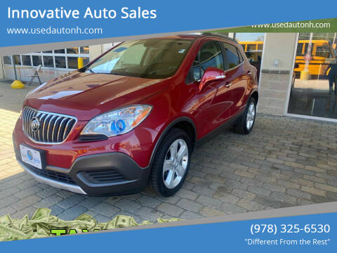 2016 Buick Encore for sale at Innovative Auto Sales in North Hampton NH