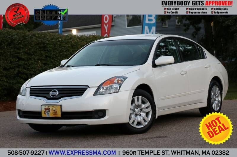 2009 Nissan Altima for sale at Auto Sales Express in Whitman MA