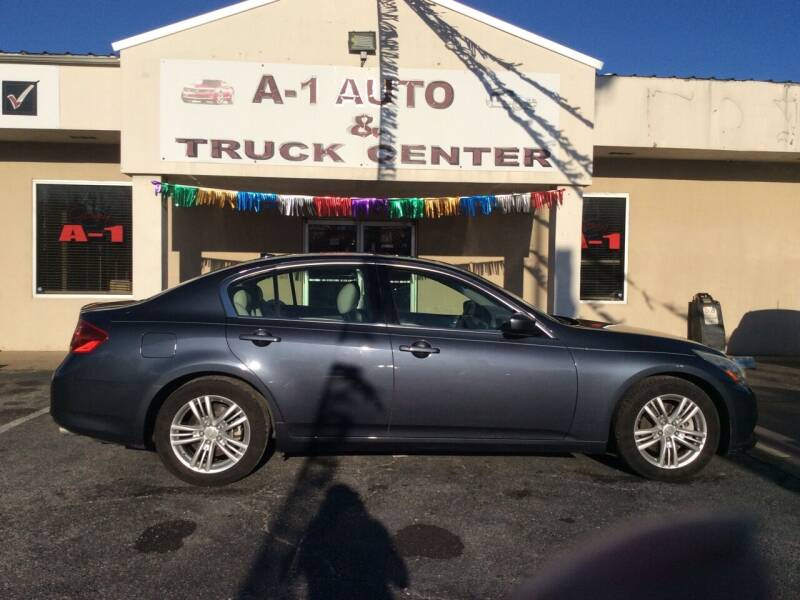 2010 Infiniti G37 Sedan for sale at A-1 AUTO AND TRUCK CENTER in Memphis TN
