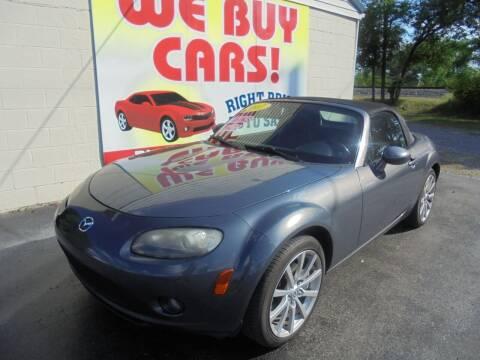 2007 Mazda MX-5 Miata for sale at Right Price Auto Sales in Murfreesboro TN