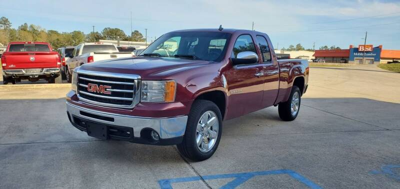 2013 GMC Sierra 1500 for sale at WHOLESALE AUTO GROUP in Mobile AL
