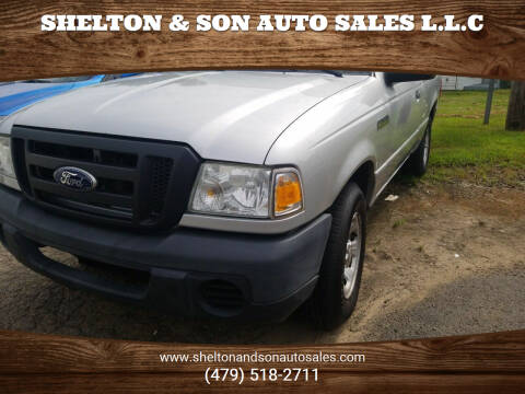 2010 Ford Ranger for sale at Shelton & Son Auto Sales L.L.C in Dover AR
