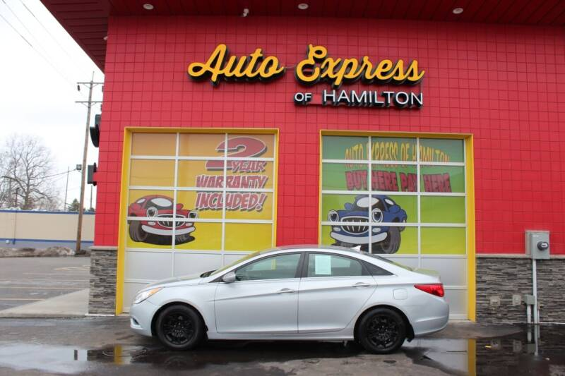 2011 Hyundai Sonata for sale at AUTO EXPRESS OF HAMILTON LLC in Hamilton OH