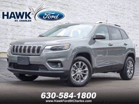 2020 Jeep Cherokee for sale at Hawk Ford of St. Charles in Saint Charles IL