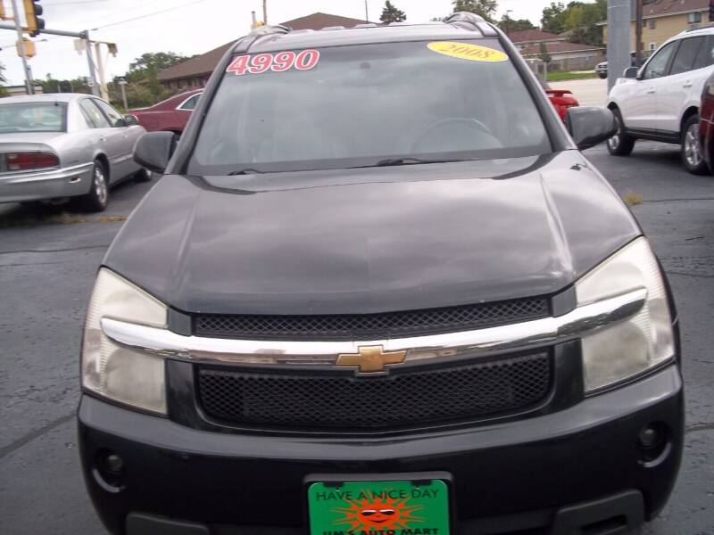 2008 Chevrolet Equinox for sale at JIMS AUTO MART INC in Milwaukee WI