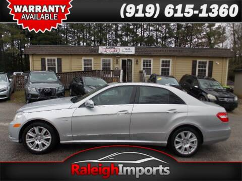 2012 Mercedes-Benz E-Class for sale at Raleigh Imports in Raleigh NC