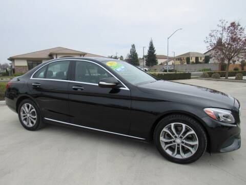 2015 Mercedes-Benz C-Class for sale at Repeat Auto Sales Inc. in Manteca CA