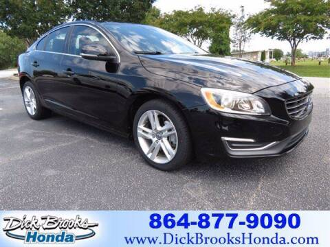 2014 Volvo S60 for sale at DICK BROOKS PRE-OWNED in Lyman SC